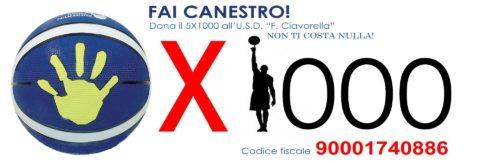 """Dona il tuo 5×1000 all' U.S.D. """"F. CIAVORELLA"""""""