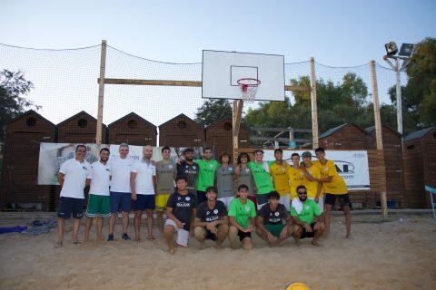 "Foto I torneo ""Beach Basket PataPata"" categoria Under"